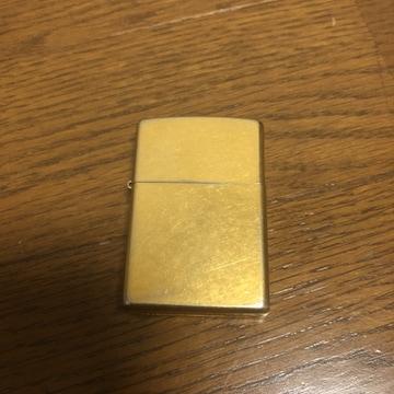 即決 ZIPPO ジッポー ゴールド E 03
