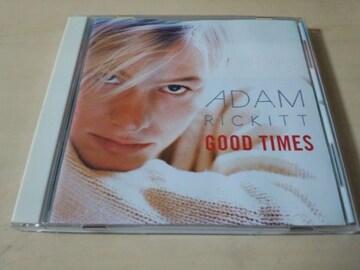 アダム・リキットCD「グッド・タイムスGOOD TIMES」Adam Rickitt