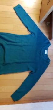 セーター【グリーン/Mサイズ】
