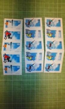 アメリカ33c切手帳(スポーツ選手$4.95)♪