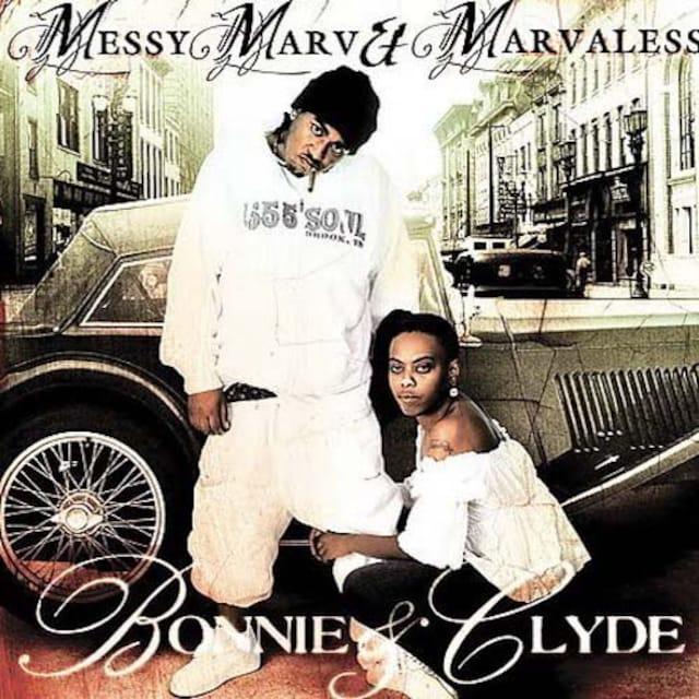 大人気 messy marv & marvaless レア bonnie & clyde  < CD/DVD/ビデオの