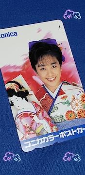 ★未使用★西田ひかる★テレホンカード★コニカカラー★非売品