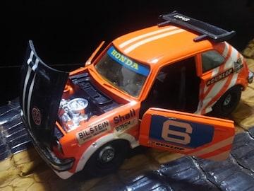 貴重1970年代ミニカーシビックレーシング