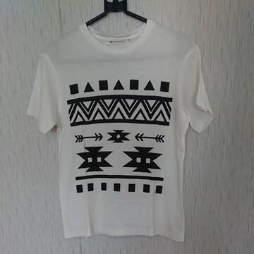 THESHOPTK☆ネイティブ柄のTシャツ☆size150☆白