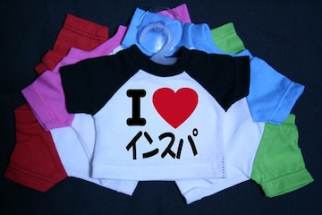 I LOVE ミニTシャツ インスパ 各色有り