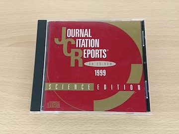 CD-ROM「JOURNAL CITATION REPORTS 1999」★