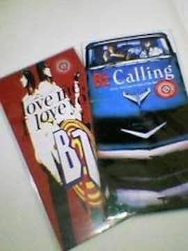B'Zシングル【Calling】【Love me,I Love you】2枚セット