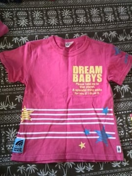 美品 DREAM  BABYS  半袖Tシャツ 100cm