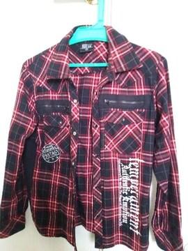 秋に☆アメカジ好き必見チェックシャツ160size