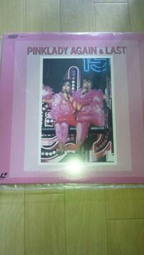 廃盤新品LDソフト!ピンクレディー「AGAIN&LAST」☆84年ライブ☆