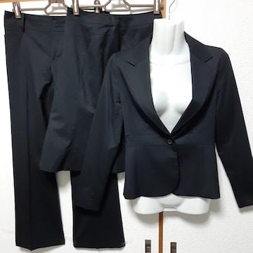 美品 黒 無印 CLEARIMPRESSIONS パンツ スカート スーツ
