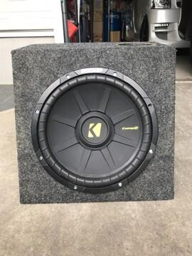 Kicker(キッカー) COMPS 40CWS124 12インチ 600W+専用BOX!!