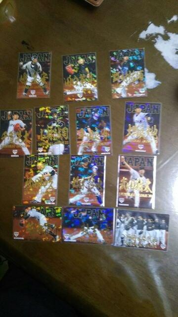 プロ野球チップスカード金箔サインカードまとめ売り侍ジャパン  < トレーディングカードの