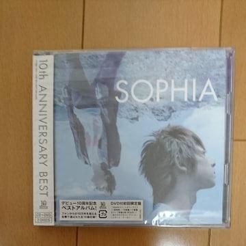 SOPHIA.10th ANNIVERSARY BEST初回限定盤DVD付き.新品未開封です