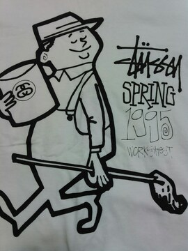 STUSSYTシャツサイズM25周年限定ステューシー