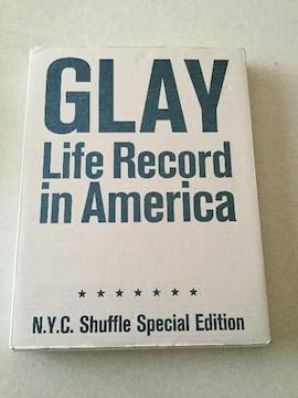 送料込み 美品 GLAY Life Record in America 写真集