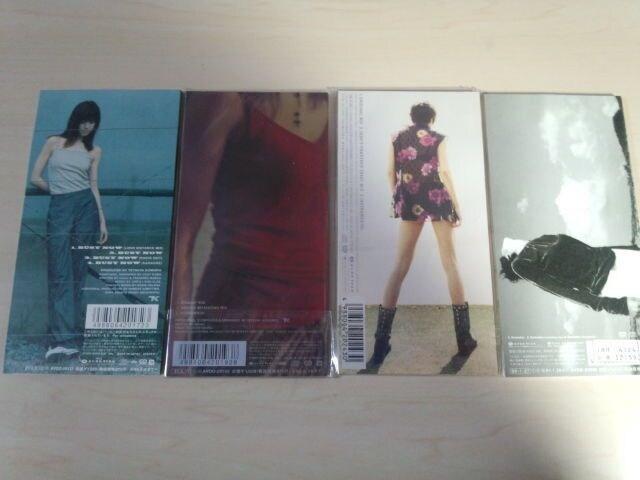 hitomi CDSシングル4枚セット☆ < タレントグッズの