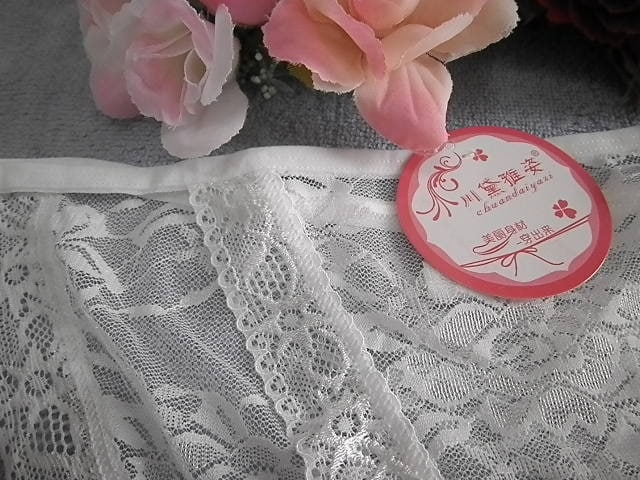 "◇""☆.PinkyAngel^-^透けレース小さいヒモ結びパンティ.☆""◇ < 女性ファッションの"