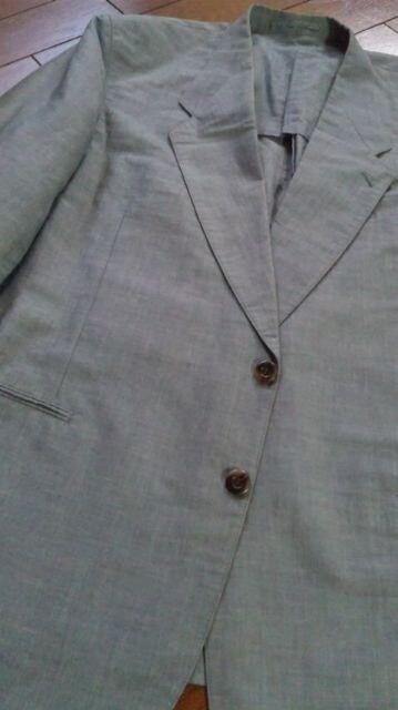 【美品】INTERMEZZO◆上質リネン混◆summerジャケット◆sizefree < 男性ファッションの