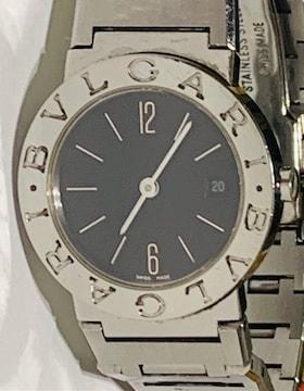良品ブルガリブルガリレディース時計BB26SSブレスベルト電池新品