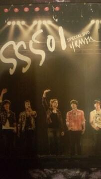 激レア!☆SS501/U.R.MAN SPECIAL☆日本初回盤/DVD3枚組超美品!