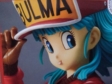 ドラゴンボールGLITTER&GLAMOURS-BULMA-�Uブルマフィギュアレッド