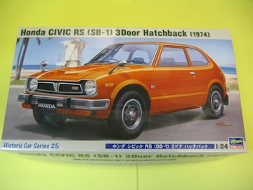 ハセガワ 1/24 HC-25 ホンダ シビック RS (SB-1) 3ドア ハッチバック