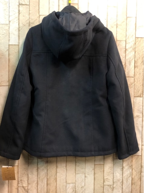新品☆Sサイズ紺ダッフルコート♪ショートコート☆n814 < 女性ファッションの