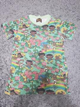 ★新品★グラグラ★総柄Tシャツ★ママ★