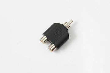 RCA分配プラグ 変換 コネクター
