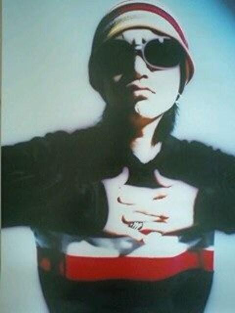 X JAPAN hide ポスター ROCKET DIVE ヒデ  < タレントグッズの