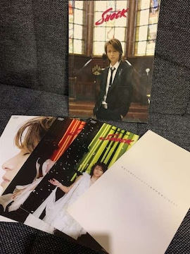 【KinKi Kids】【堂本光一】SHOCK/DVD付属/フォトブック