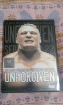 WWE アンフォーギブン 2002 DVD/UFCブロックレスナーvsアンダーテイカーetc
