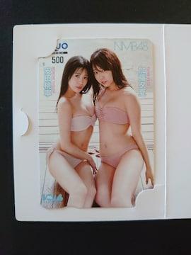 最新/NMB48/加藤夕夏/安田桃寧/QUOカード
