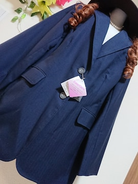 ★新品タグ34ABR★濃紺ジャケット¥6589