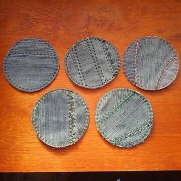 コースター 5枚セット (手作り)