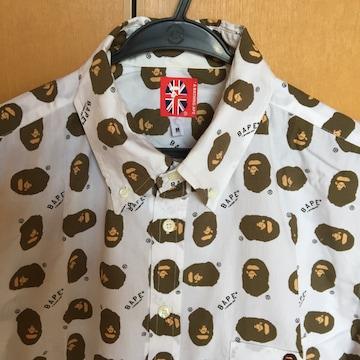 送料込み  BAPE 半袖シャツ