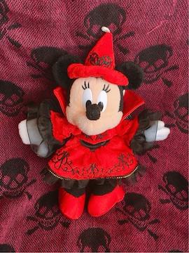 TDL ハロウィン ミニーマウス ぬいぐるみバッジ 2010 Dz21