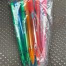 消しゴムで消せるカラー芯シャープペンシル