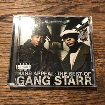 【GANG STARR】MASS APPEAL:THE BEST OF