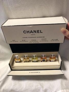 CHANELシャネル レア香水 オードパルファム ミニボトル5本セット