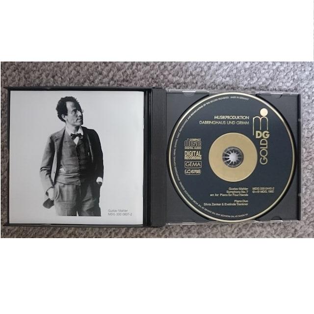 KF マーラー 交響曲第6番悲劇的 交響曲第7番夜の歌 ピアノ版 < CD/DVD/ビデオの