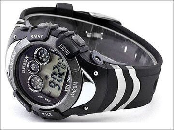 デジタル腕時計 新品★20 4 高級 レア品 多機能 nixon