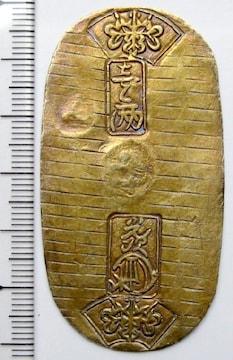 ◆江戸時代の金貨 文政小判金(草文小判) 美品 本物保証