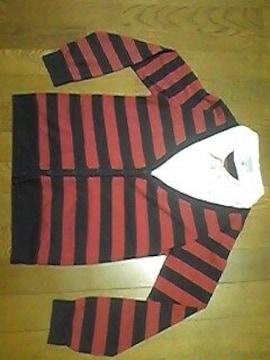 セオリア/長袖Tシャツ/上着/薄手生地/M/ボーダー
