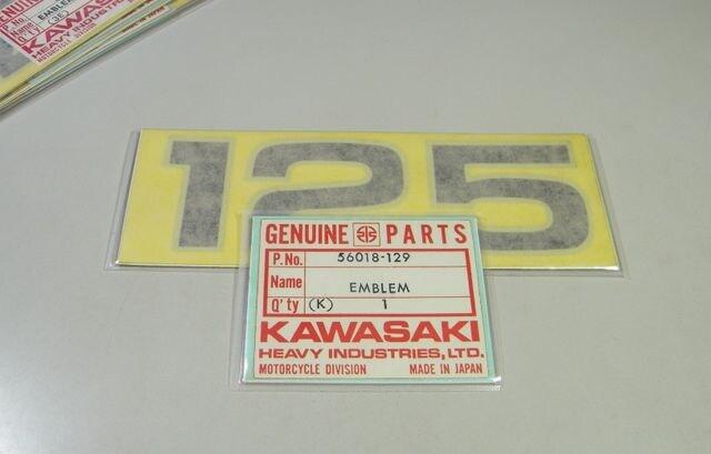 カワサキ F6 F6B ボブキャット オイルタンク・エンブレム 絶版 < 自動車/バイク