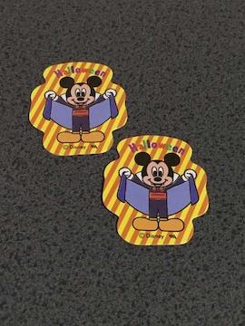 ディズニー ハロウィン フレークシール ミッキーマウス 2枚
