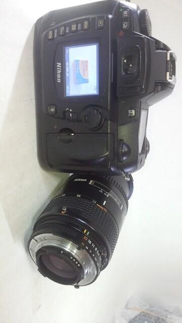Nikon D70 充電器 無し + AF 28-85�o < 家電/AVの