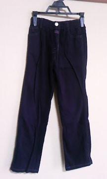 黒130cm長ズボン