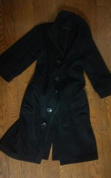 Ciao Panic フリーサイズ 黒 コート 美品 七分袖